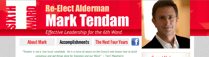Mark Tendam Alderman 6th Ward