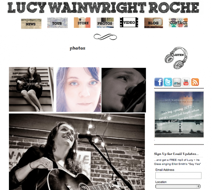Lucy Wainwright Roche · Touring Singer/Songwriter