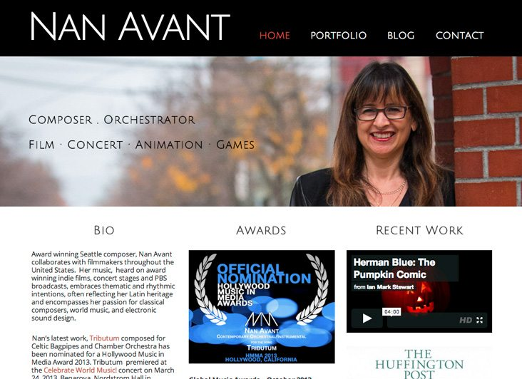 Nan Avant – Composer and Orchestrator