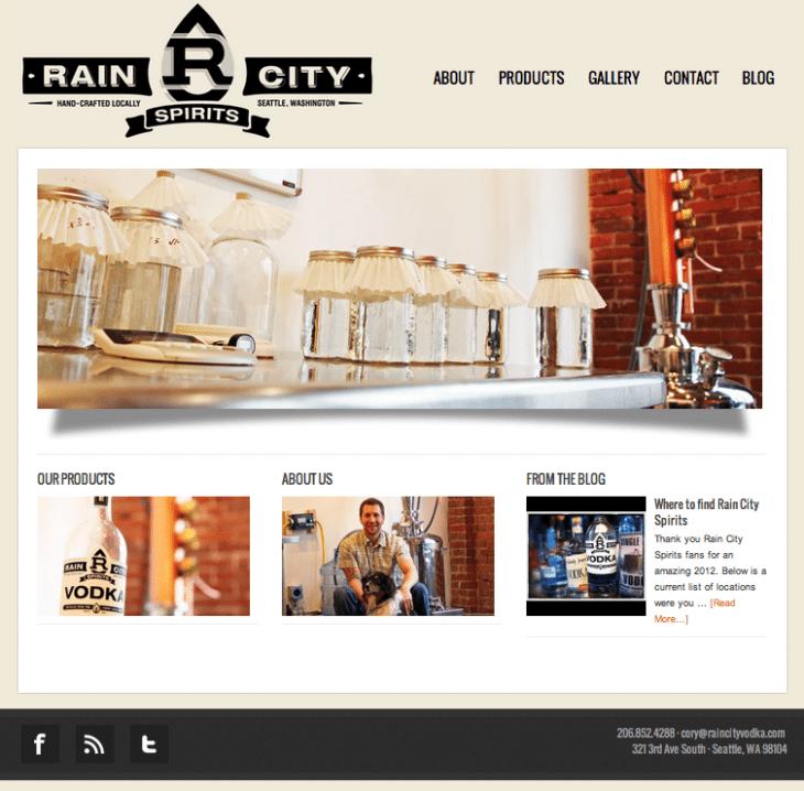 rain city screenshot